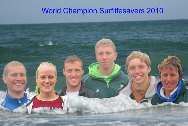 Clare Surf Lifesavers Bring Home Gold And Silver From The World Championships